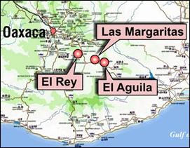 Gold Resource Corp. holds three projects in the Mexican state of Oaxaca.